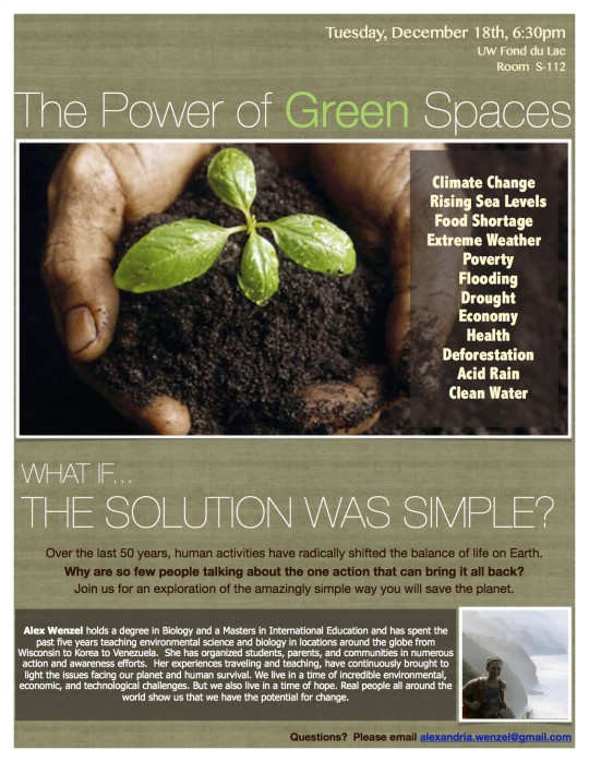 The Power of Green Spaces